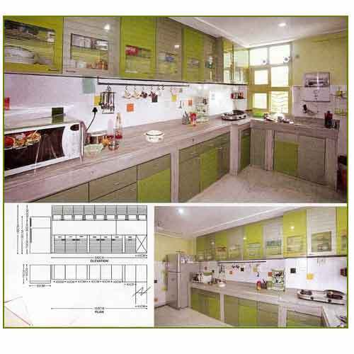 Home household furniture and office and institutional for Kitchen cabinets india