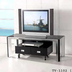 Tv unit metallic