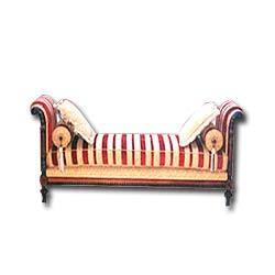 Wooden Backless Sofa