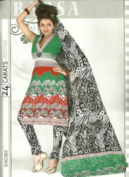 Printed Cotton Suits Salwar