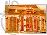 Wrought Iron Mandap Pillars