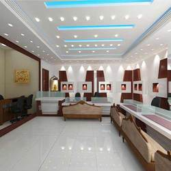 Interior Of Jewelery Showroom