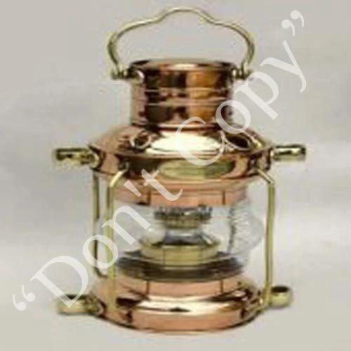 Antique Ship Oil Lamps