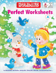Holidays Perfect Worksheet Book