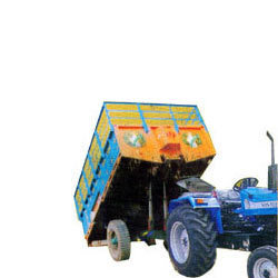 Tipping Type Tractor Trolley