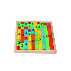 Add & Count Rods: (Wooden)