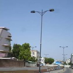 Steel Street Light Poles