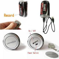 Spy Coca Cola Can Camera
