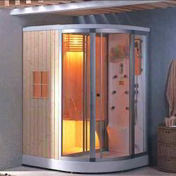 steam room showers