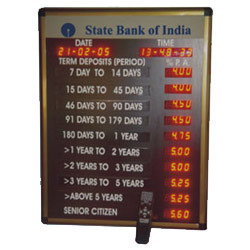 Bank Rates & Bank Token Display