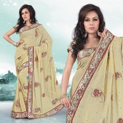 Beautiful Sequence Work Sarees