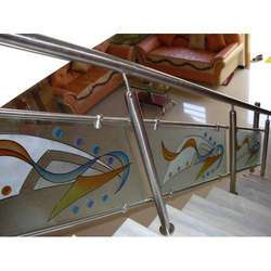 SS & Glass Railing