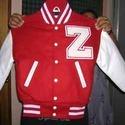 Red Modern Varsity Jacket