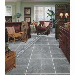 Tumbled Slate Tile Flooring