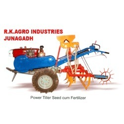 Rotary Trailer Seed Drill