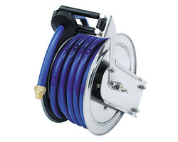 hose reels available in ss body and ms powder coated body hose length