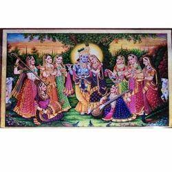 Krishna Radha Painting