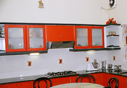 Kitchen cabinets in thrissur kerala india indiamart for Aluminium kitchen cabinets kerala
