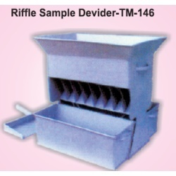 Riffle Sample Divider
