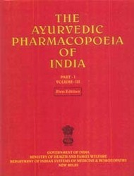 The Ayurvedic Pharmacopoeia Of India Book, Vol. Iii