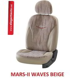Mars Waves Design Car Seat Covers