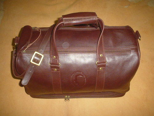 c55bde0bdd Leather Bags   Cases - Leather Duffel Bag Manufacturer from Chennai