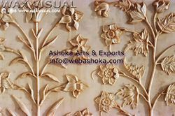 Antique Finish Mugal Panel