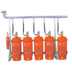 Fire Gas Suppression