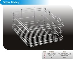 grain trolley basket