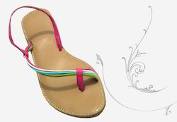 Designer Strip Sandals