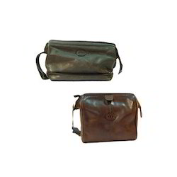Leather Toiletries Bags