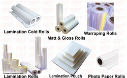 Lamination Rolls & Cut Pouch