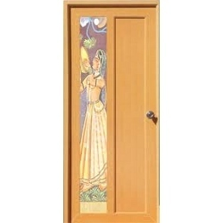 Wood Finish Toilet Doors