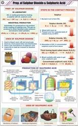 Prep. Of Sulphur Dioxide & Sulphuric Acid For Chemistry Char