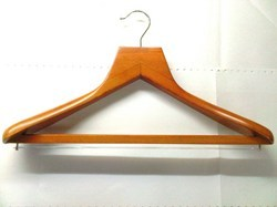 Wooden hanger