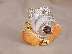 Diamond Rudraksh Ganesh
