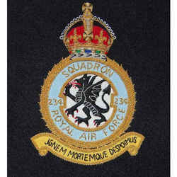 Raf 234 Sqn. Blazer Badge