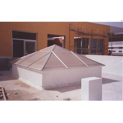 Fabric Roofing Sheds