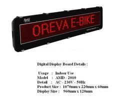 DIGITAL DISPLAY & MOVING DISPLAY BOARD