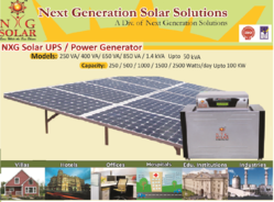 Solar Power Pack (500 Watts/Day to 5 Kw/Day)