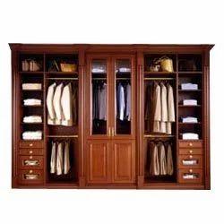 Modular Wardrobe - Wooden Wardrobe, Wooden Partition Wardrobe ...