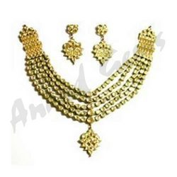 Five String Kundan Necklace