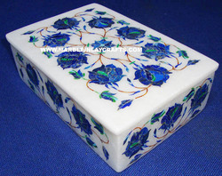 Marble Gemstone Box
