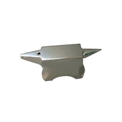 double horn anvil with curved base for jewelry tools