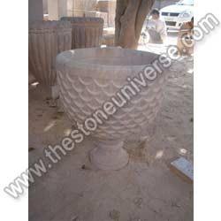 Sandstone Plant Pot