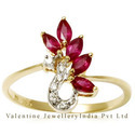 Marquees Ruby Ring