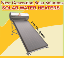 Solar Water Heater-Flat Plate Collector System
