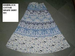 Cotton Printed Wrap Round Skirts