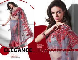 Fancy Net Sarees