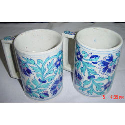 Blue Pottery Cups